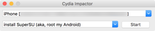 Cydia-Impactor-Interface