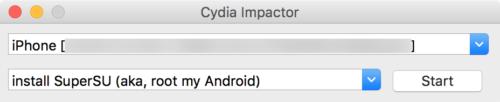 Cydia-Impactor-Interface