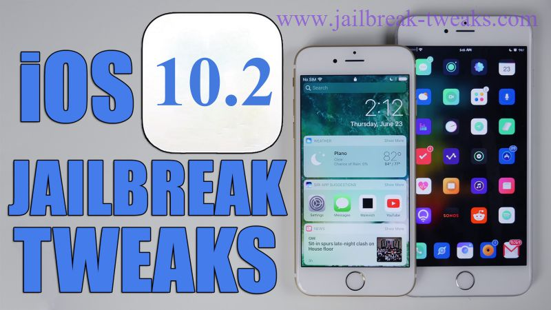 iOS 10.2 jailbreak tweaks